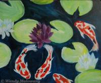 Koi Lily Pond