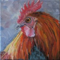 francois-rooster-painting-malowany