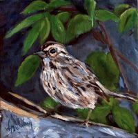 spring-sparrow-painting-malowany