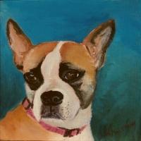 tinkerbell-old-boston-bulldog-malowany