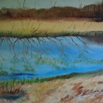 Ker Floodplain, oil painting