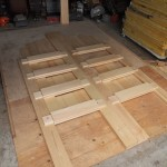 Door Laid Out Prior to Assembly 2