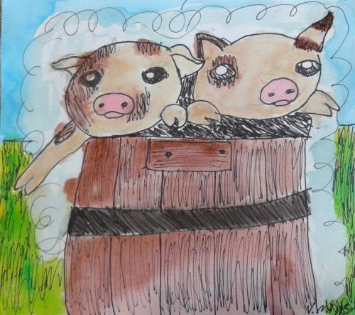 pigs tub - natalie