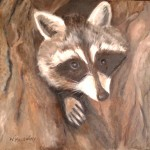 racoon-oil-painting