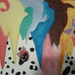 Abstract painting by Abby S.