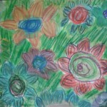 oil pastel and watercolour by Gabby S.