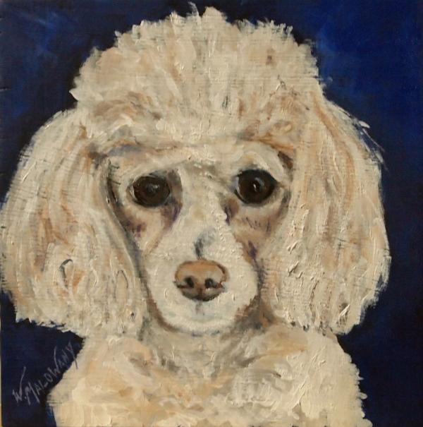 yeti-poodle-painting-malowany