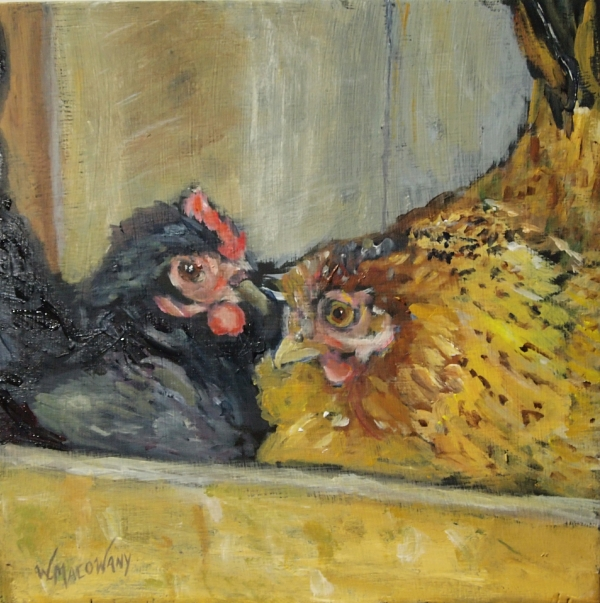 sharing-box-hens-painting-malowany