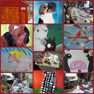 Art Camp collage