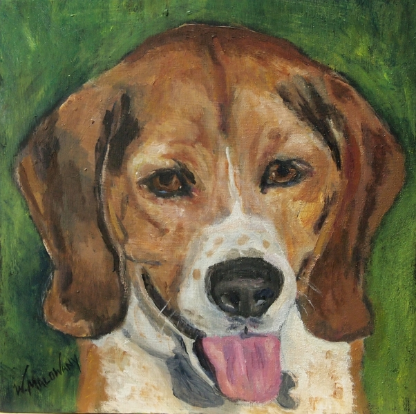 deuce-beagle-dog-painting-malowany