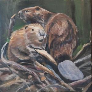 beaver-painting-malowany