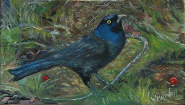 starling-painting-malowany
