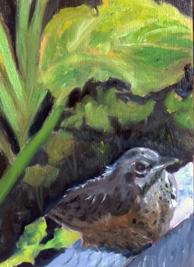 baby-robin-oil-painting-malowany