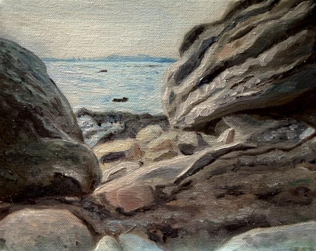 pelee-island-rock-landscape-malowany