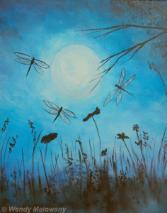 Evening Dragonfly Dance