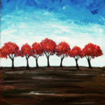 Red Maples on the Horizon