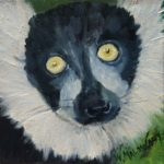 piper-malowany-lemur-painting