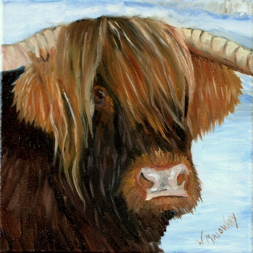 winter-highland-cow-painting-malowany