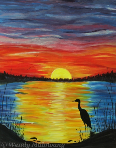 summer-sunset-painting-malowany
