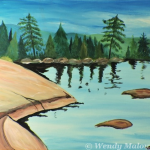 paint-party-shimmering-lake-malowany