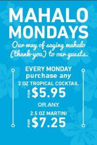 Mokus-Mahalo-Mondays