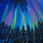 northern-lights-paint -party-painting-malowany