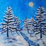 snowy-pines-paint-party-painting-malowany