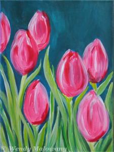 spring-tulip-painting-malowany